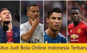 Agen Judi Bola Online Indonesia Terbaru